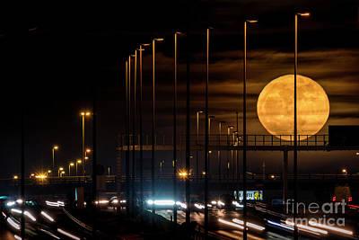 Photograph - Moonlight by Hernan Bua