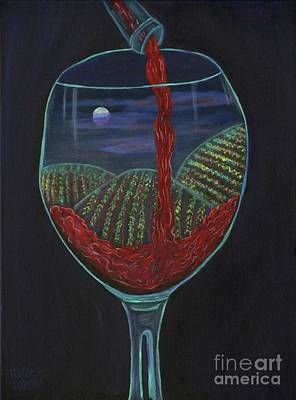 Moonlight In A Wine Glass Original