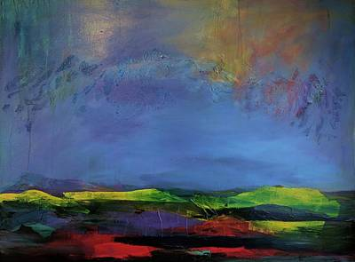Painting - Storm Brewing by Jillian Goldberg