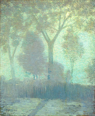 Painting - Moonlight by Julian Alden Weir