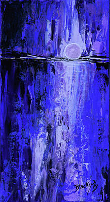 Painting - Moonlight Madness by Donna Blackhall