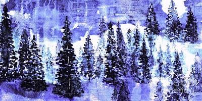 Painting - Moonlight Magic by Hazel Holland