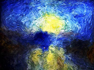 Digital Art - Moonlight Mania by Rein Nomm
