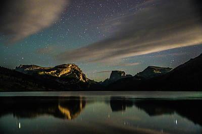 Photograph - Moonlight On Green River Lake by Michael Balen