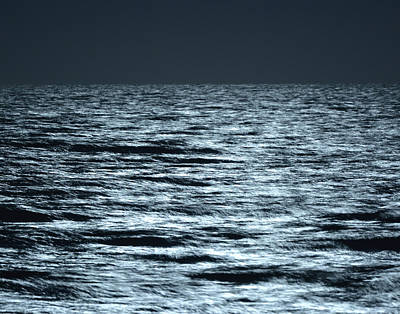 Photograph - Moonlight On The Ocean by Nancy Landry