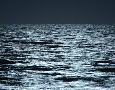 Photograph - Moonlight On The Ocean by Nancy Landry