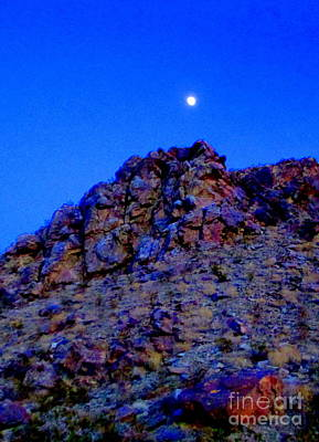 Photograph - Moonlight Over Peggy's Mountain by Randall Weidner