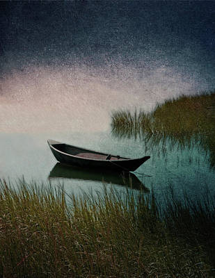Photograph - Moonlight Paddle by Brooke T Ryan