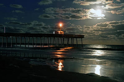 Photograph - Moonlight Reflections 2 by Dan Myers
