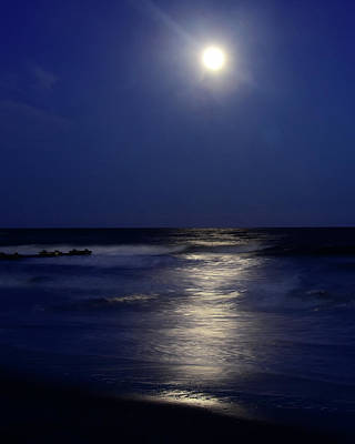 Photograph - Moonlight Reflections by Dan Myers