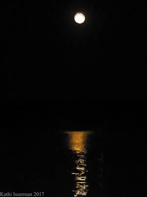Photograph - Moonlight Reflections by Kathi Isserman