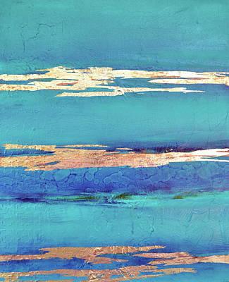 Moonlight Sea Art Print by Filomena Booth