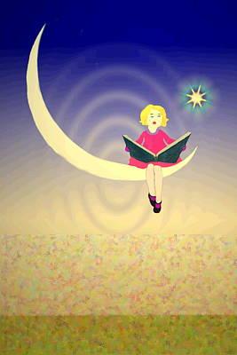 Digital Art - Moonlight Serenade 1 by Joyce Dickens