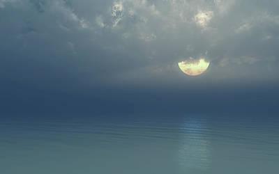 Digital Art - Moonlight Serenade by Georgiana Romanovna