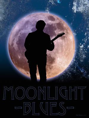 Moonlight Serenade Print by WB Johnston