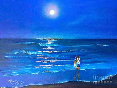 Moonlight Silence  Original by Viktoriya Sirris