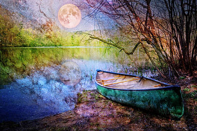 Photograph - Moonlight Sonata by Debra and Dave Vanderlaan