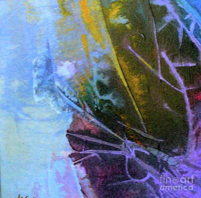 Art Print featuring the painting Moonlight Sonata by Mary Sullivan