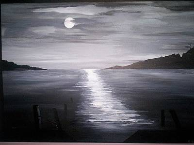 Painting - Moonlight by Susan  Solak