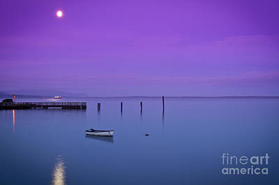 Photograph - Moonlit Bay by Idaho Scenic Images Linda Lantzy