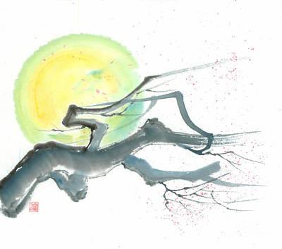 Moonlit Blossom  Original by Mui-Joo Wee