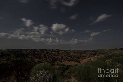 Photograph - Moonlit Canyon by Melany Sarafis