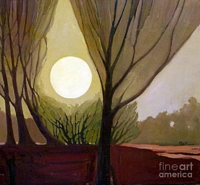 Dreamscape Painting - Moonlit Dream by Donald Maier