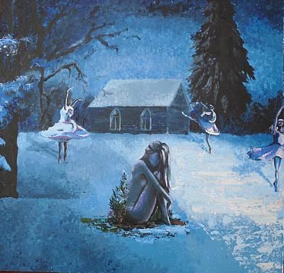 Moonlit Dream Print by Julia Ranson