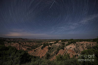 Photograph - Moonlit Skies Over Caprock Canyons by Melany Sarafis
