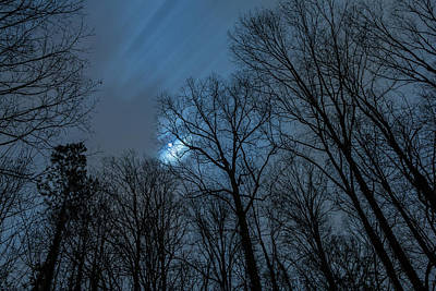 Photograph - Moonlit Sky by Rod Kaye