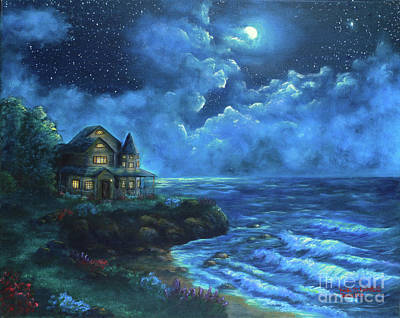Painting - Moonlit Splendor by Kristi Roberts
