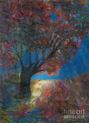 Painting - Moonlit Tree by Denise Hoag
