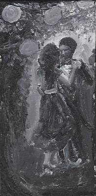 Cotillion Painting - Moonlit Waltz by Karyn Linnell