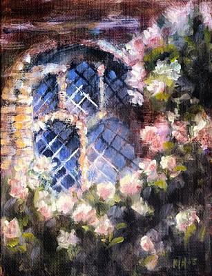 Moonlit Window Original by Melissa Herrin