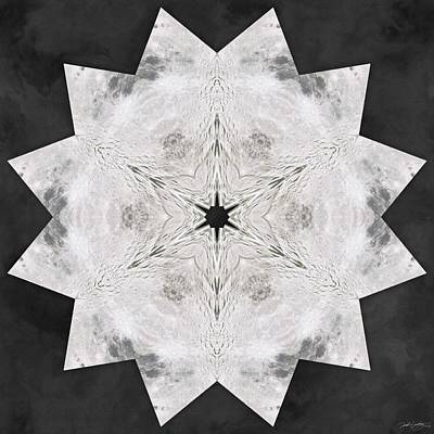 Digital Art - Moonmap Star by Derek Gedney