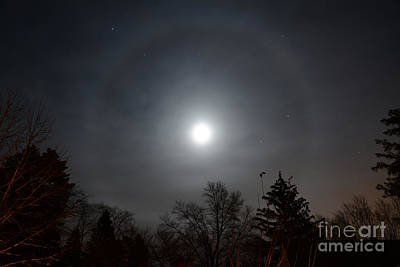 Photograph - Moonring by Charles Owens