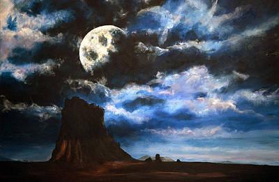 Moonrise IIi Art Print by Amy Williams