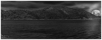 Photograph - Moonrise-lagoa Do Pero-cabo Frio-rj by Carlos Mac