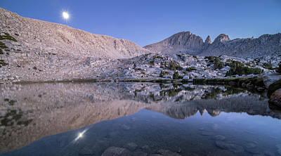 Photograph - Moonrise, Mono Creek by Martin Gollery