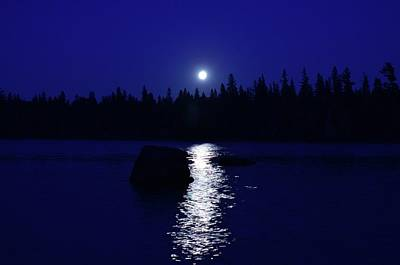 Photograph - Moonrise On A Midsummer's Night by David Porteus