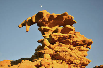Photograph - Moonrise Over Fantasy Canyon Hoodoo by Ray Mathis