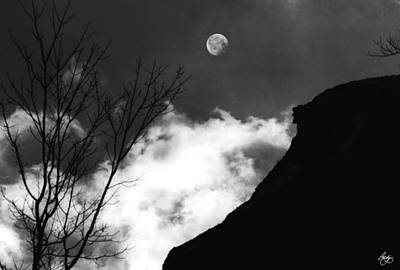 Photograph - Moonrise Over The Old Man by Wayne King