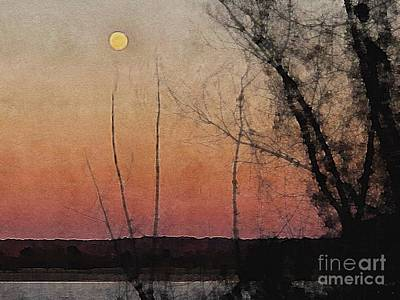 Photograph - Moonrise by Paul Wilford