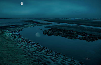 Photograph - Moonscape 4 by Bill Posner