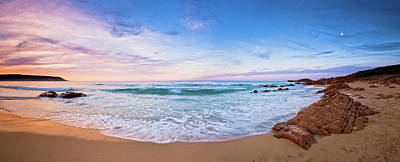 Print featuring the photograph Bunker Bay Sunset, Margaret River by Dave Catley