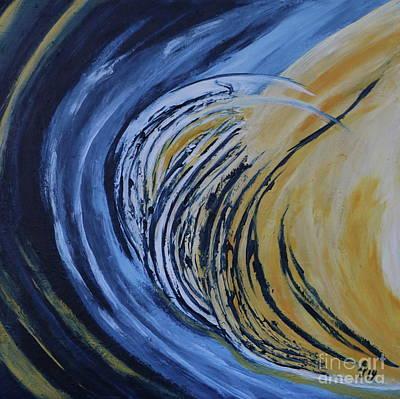 Moonscape Vii Art Print