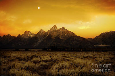 Photograph - Moonset by Scott Kemper