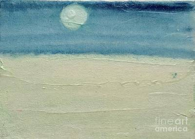 For Salons Painting - Moonshadow Pearl by Kim Nelson
