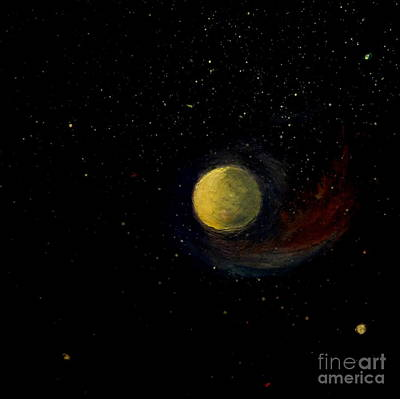 Painting - Moonshine by Fred Wilson