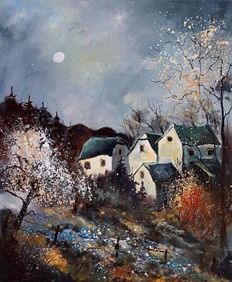 Moonshine  Art Print by Pol Ledent